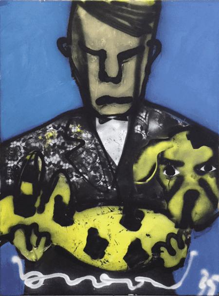 Herman Brood | Man met hond